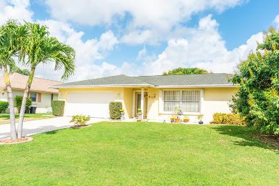 Palm Beach Gardens Single Family Home For Sale: 3847 Dogwood Avenue