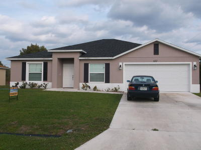 Port Saint Lucie Single Family Home For Sale: 681 SW Addie Street