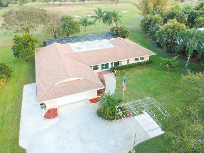 Martin County Single Family Home For Sale: 2007 NW Pine Lake Drive