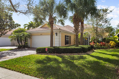 Palm Beach Gardens Single Family Home For Sale: 8859 Oldham Way