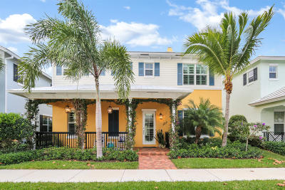 Jupiter Single Family Home Contingent: 107 Kopsia Drive