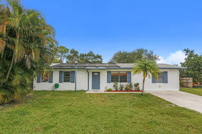 Lake Worth Single Family Home For Sale: 9179 Twig Road