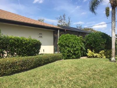 Hobe Sound Single Family Home For Sale: 6200 SE Monticello Terrace