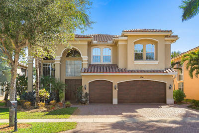 Boynton Beach Single Family Home For Sale: 11141 Misty Ridge Way