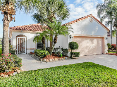 Port Saint Lucie, Saint Lucie West Single Family Home For Sale: 332 NW Breezy Point Loop