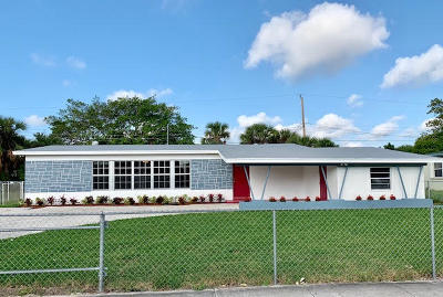 West Palm Beach Single Family Home For Sale: 1027 Australian Avenue