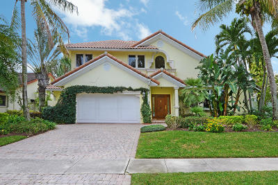 Boca Raton Single Family Home For Sale: 7862 Tennyson Court