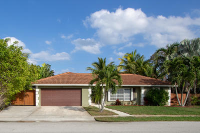Boca Raton Single Family Home For Sale: 1332 SW 12th Terrace