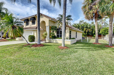Boca Raton Single Family Home For Sale: 7515 Fairway Trail