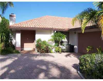 Boca Raton Single Family Home For Sale: 7990 Palacio Del Mar Drive