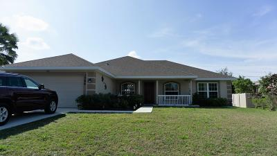 Port Saint Lucie Single Family Home For Sale: 3586 SW San Giorgio Street