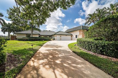 Wellington FL Single Family Home For Sale: $995,000