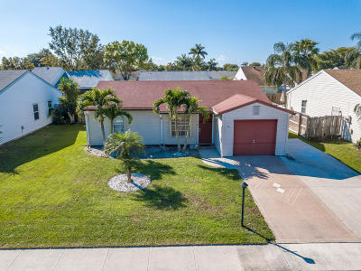Lake Worth Single Family Home For Sale: 5158 Canal Circle S