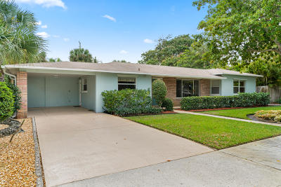 West Palm Beach Single Family Home For Sale: 220 34th Street