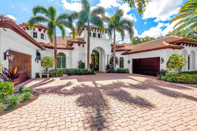 Martin County, Palm Beach County Single Family Home For Sale: 113 Quayside Drive