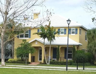 Jupiter Single Family Home For Sale: 119 Leather Leaf Drive