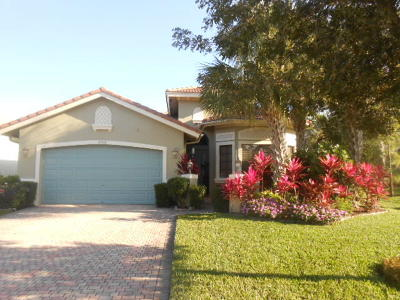 boynton beach Single Family Home For Sale: 6998 Boscanni Drive