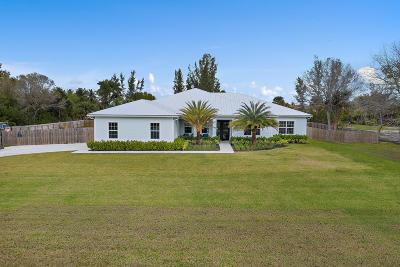 Jupiter FL Single Family Home For Sale: $850,000