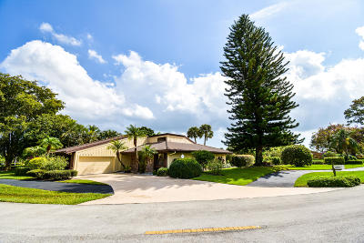 Palm Beach Gardens Single Family Home Contingent: 13785 Sand Crane Drive