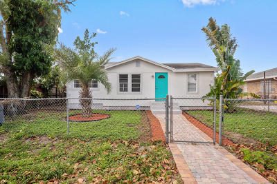 West Palm Beach Single Family Home For Sale: 1243 Sunset Road