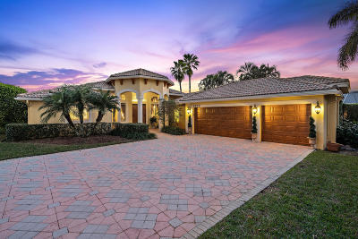 boynton beach Single Family Home For Sale: 9675 Cross Creek Drive