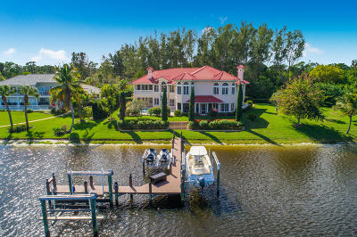 Port Saint Lucie  Single Family Home For Sale: 12010 Riverbend Road