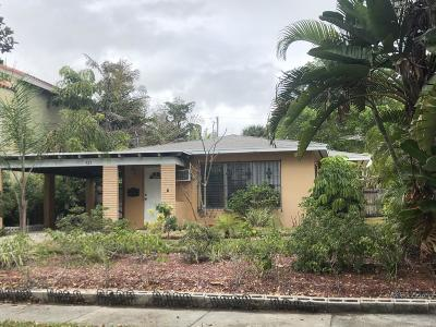 West Palm Beach Single Family Home For Sale: 525 27th Street