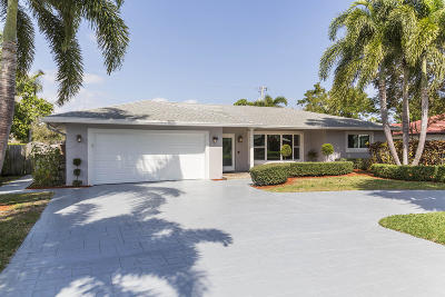 Boca Raton Single Family Home For Sale: 2071 Bethel Boulevard
