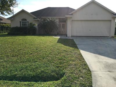 Port Saint Lucie, Saint Lucie West Single Family Home For Sale: 5192 NW Ever Road