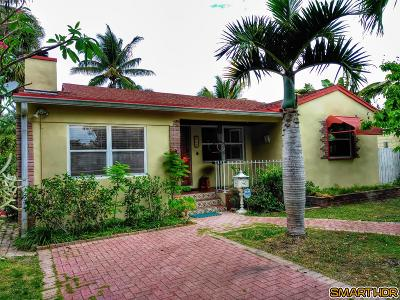 West Palm Beach Single Family Home For Sale: 425 32nd St Street