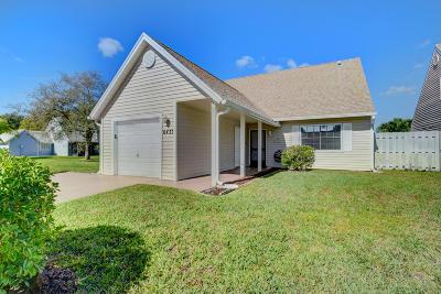Lake Worth, Lakeworth Single Family Home For Sale: 6433 Lantana Pines Drive