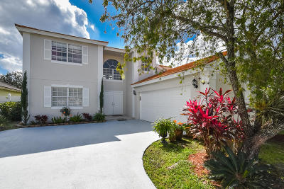 Boca Raton Single Family Home For Sale: 10628 Pebble Cove Lane