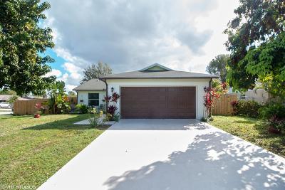 Royal Palm Beach Single Family Home For Sale: 1490 Thornridge Lane