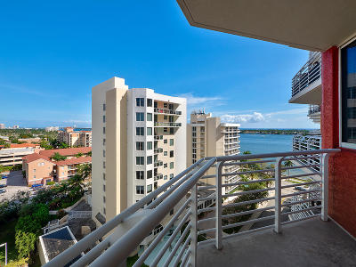 West Palm Beach Rental For Rent: 1551 Flagler Drive #1107