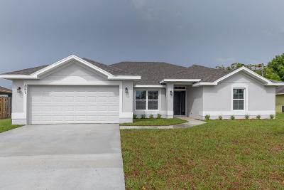 Port Saint Lucie Single Family Home For Sale: 357 SE Whitmore Drive
