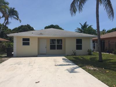 Delray Beach FL Single Family Home For Sale: $449,900