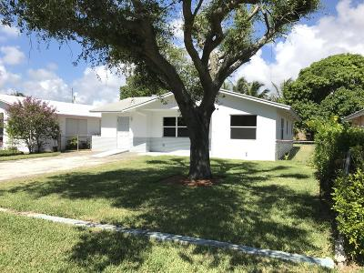 Delray Beach FL Single Family Home For Sale: $339,900