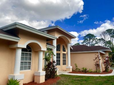 Loxahatchee Single Family Home For Sale: 16595 93rd Road