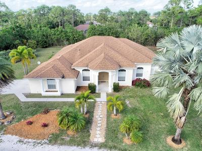 West Palm Beach Single Family Home For Sale: 14891 97th Road