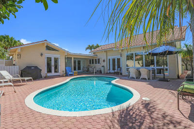 Jupiter Single Family Home For Sale: 112 Bluefish Circle