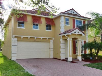 Royal Palm Beach Single Family Home For Sale: 435 Belle Grove Lane