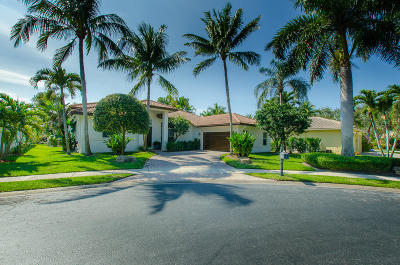 Boynton Beach Single Family Home For Sale: 12550 Oak Run Court