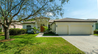 Boynton Beach Single Family Home For Sale: 12634 Oak Run Court