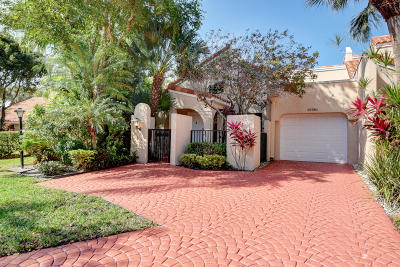 Boca Raton Single Family Home For Sale: 22780 Meridiana Drive