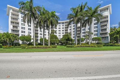 Palm Beach Condo For Sale: 2295 S Ocean Boulevard #714