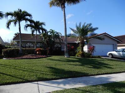 Boca Raton Single Family Home For Sale: 7174 San Sebastian Dr Drive