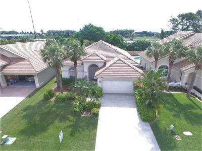 Lake Worth Single Family Home For Sale: 7651 Brunson Circle