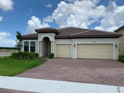 Royal Palm Beach Single Family Home For Sale: 3326 Brinely Place #376