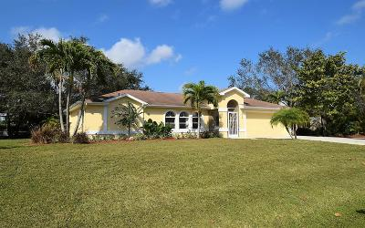 Stuart Single Family Home For Sale: 2714 NW Florida Avenue