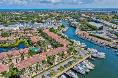 Palm Beach Gardens Townhouse For Sale: 4 Marina Gardens Drive